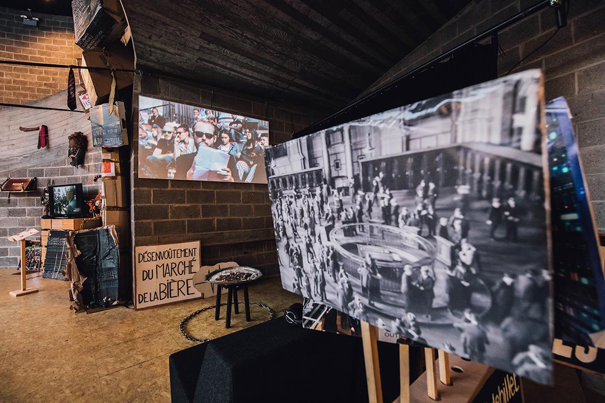 Cabinet de curiosités économiques au Festival Next ©Jonas Verbeke