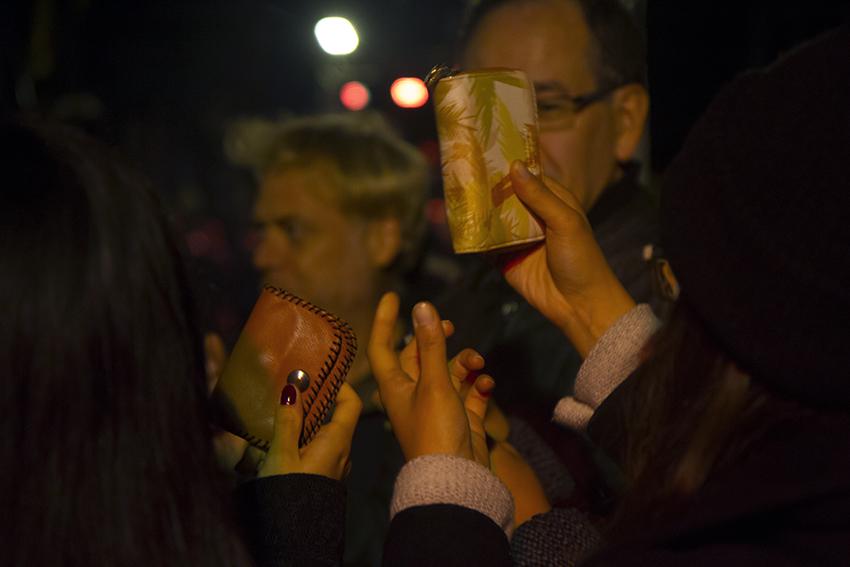 Rituel de désenvoûtement de la finance. Nuit Blanche Bruxelles © Beata Szparagowska Rituel de désenvoûtement de la finance. Nuit Blanche Bruxelles © Beata Szparagowska