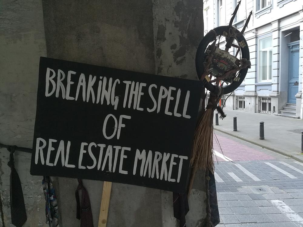 Rituel de désenvoûtement du marché de l'immobilier - Gand