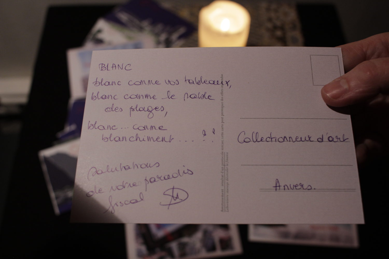 cartes postales produites durant la soirée